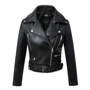 Fitaylor Women Suede Faux Leather Jackets