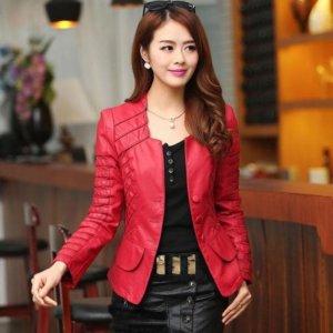 2018 Women Casual Long Sleeve Faux Short Coat
