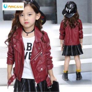 Children's Faux Leather jacket