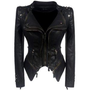 2018 Coat HOT Black Fashion Motorcycle Jacket