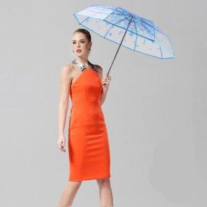 Transparent Full Automatic Umbrella Sun Rain Parasol