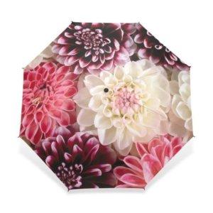 Automatic Folding Flower Parasol Umbrella