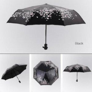 Cherry Blossom Umbrella anti-uv Sun Parasol