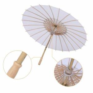 Paper Decorative Parasol Umbrella for Wedding Women