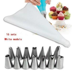16 PCS Pastry Nozzles Set