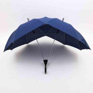 Creative fashion two-pole couple umbrella