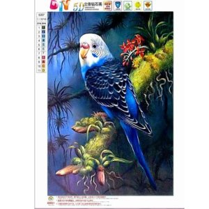 Animals parrots 5D Diamond Painting