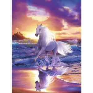 Running Horse 5D DIY Diamond Painting