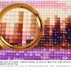 5D diamond painting kits cross-stitch Season Trees