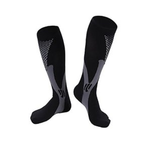 Men Women Compression Running Gym Socks