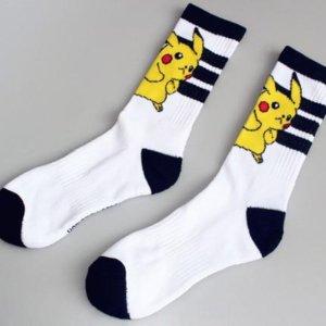 New Arrival Japanese Cute Cartoon Pokemon Compression Socks
