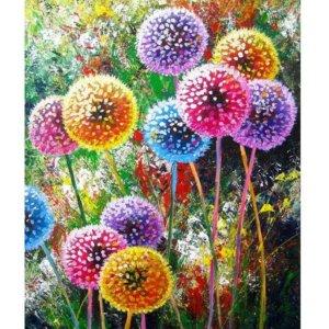 "Colored dandelion 5D DIY Diamond Painting """