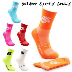 Professional Cycling Compression Sports Socks