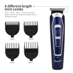 Hair Trimmer 4 combs