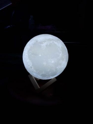 Beautiful Moon Lamp photo review