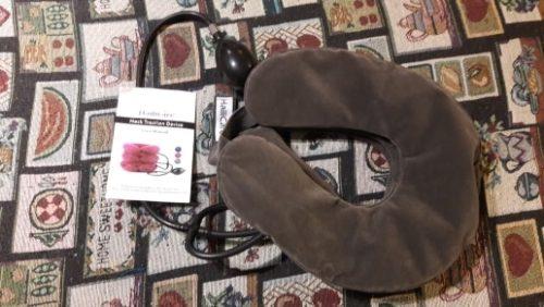 Cervical Neck Traction Device | Neck Stretcher Brace photo review