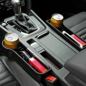 Multi-Functional Car Seat Organizer black