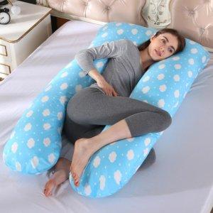 Best Pregnancy Pillow Blue-purple