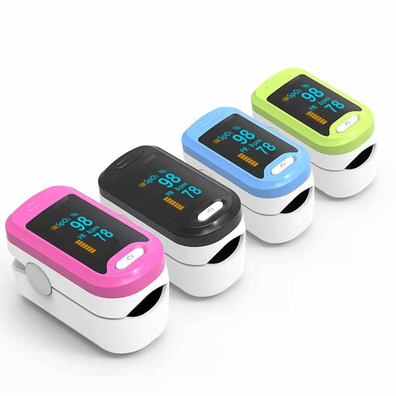 pulse oximeter coolers