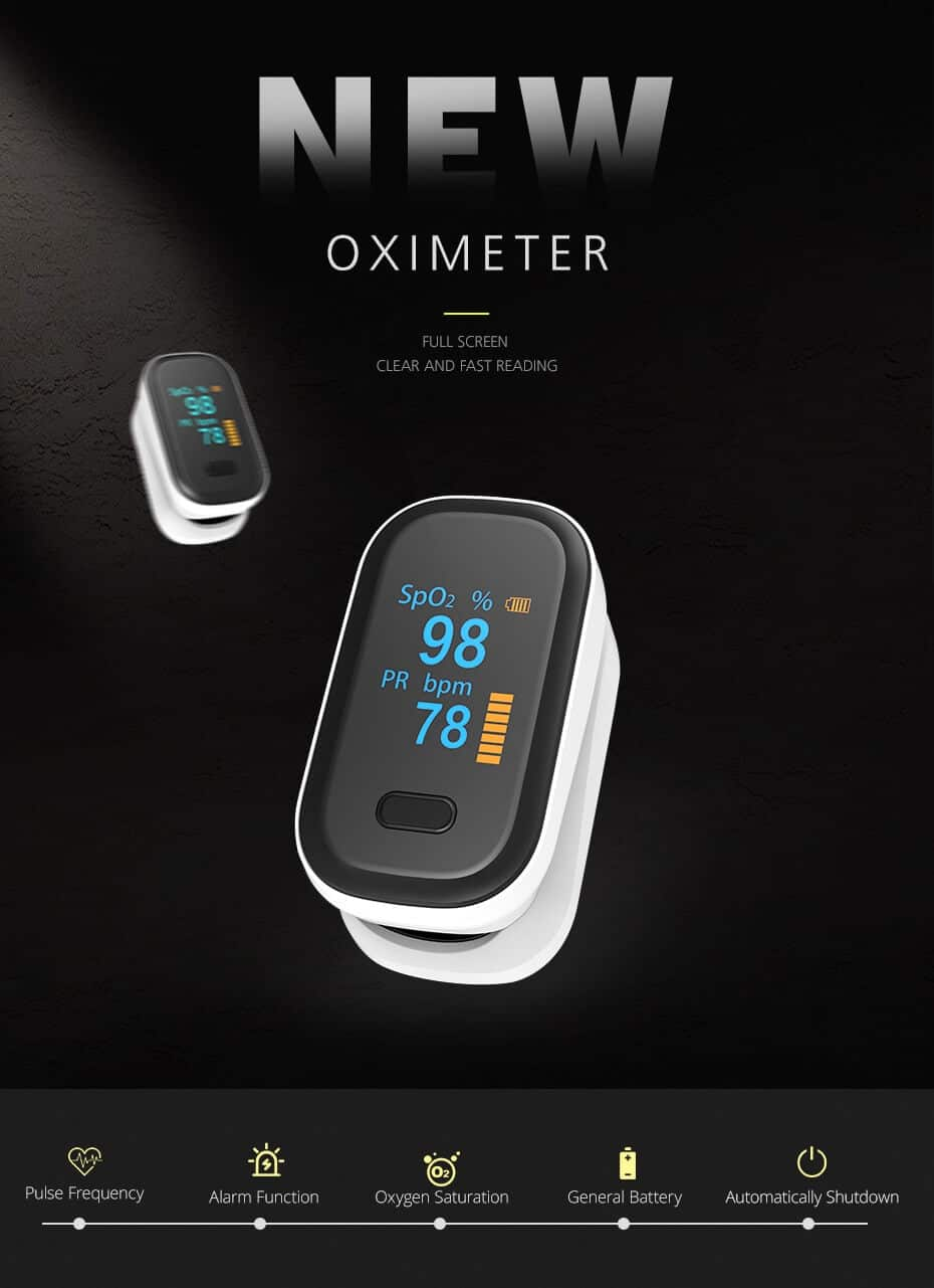 Best Pulse Oximeter For Home Use | Blood Oxygen Saturation Meter