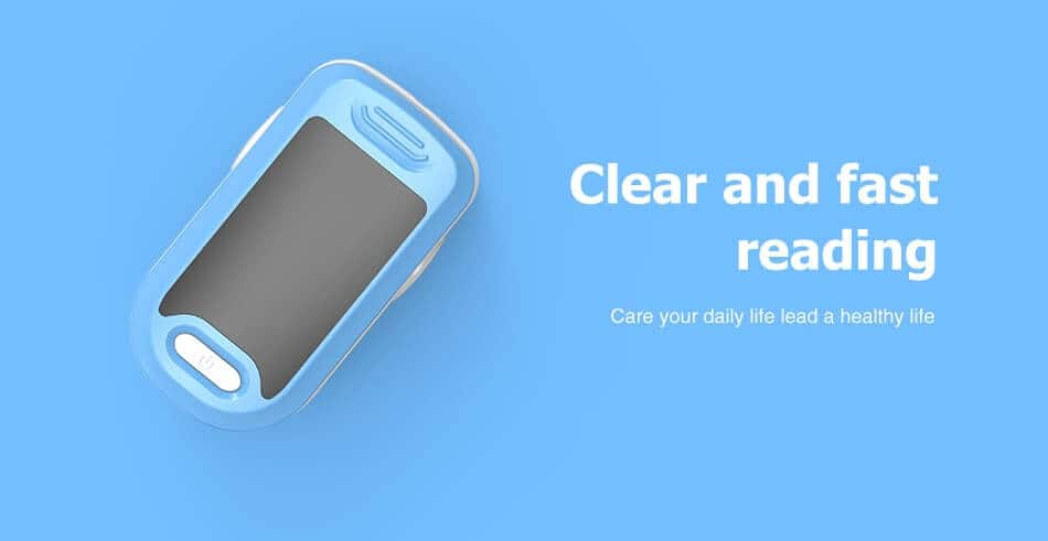 Pulse Oximeter uses Clear and fast reading