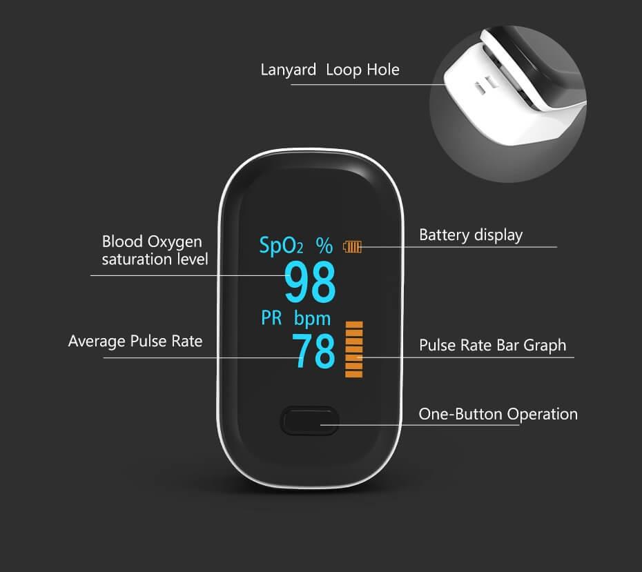 pulse oximeter feature